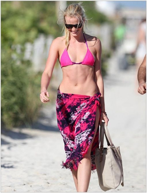 Location: MiamiGet The Look:Mara Hoffman Sarong ($198)Image courtesy of Bauer Griffin