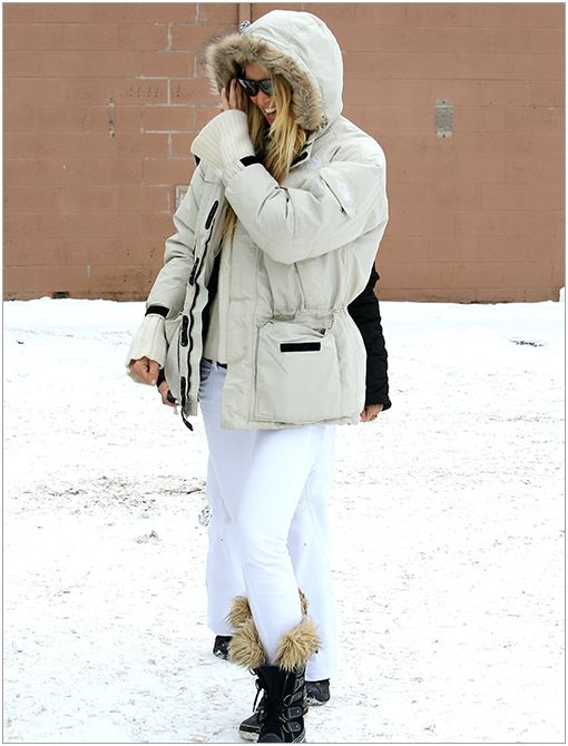 Location: Aspen, COGet The Look:Sorel Women's Tofino Canvas Boot ($140)Image courtesy of AKM GSI