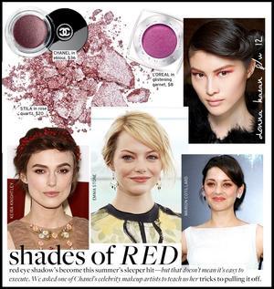 Red Eye Shadow