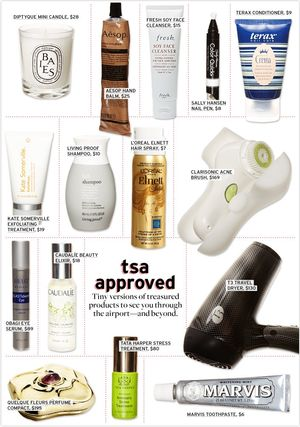 Travel-Size Products