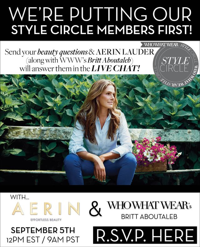 Our Live Chat With Aerin Lauder!