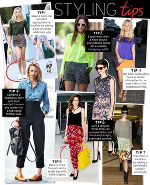 Styling Tips-August