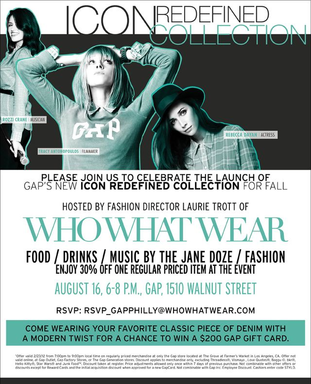 Gap's Fall Styld.by Launch
