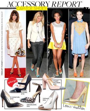 Cap-Toe Heels