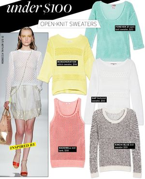 Open-Knit Sweaters