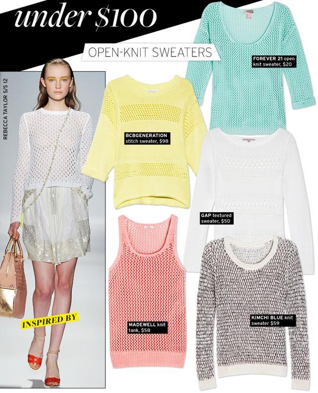 Open-Knit Sweaters