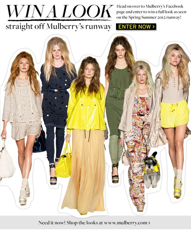 Win A Mulberry Runway Look!