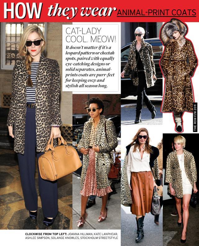 Animal-Print Coats