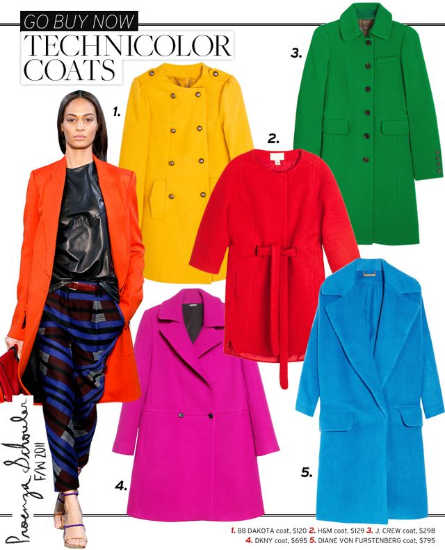 Technicolor Coats