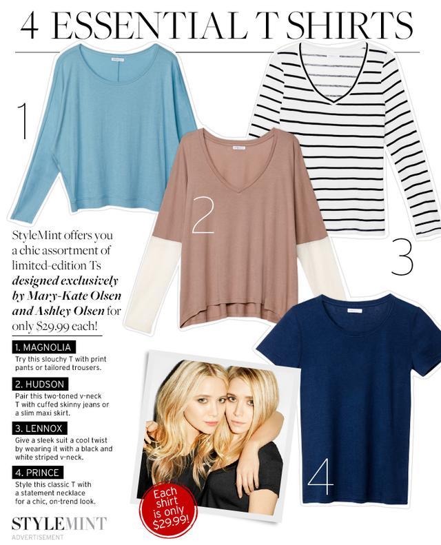 4 Essential T Shirts