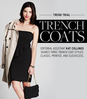 3 Fresh Ways To Wear the Timeless Trench