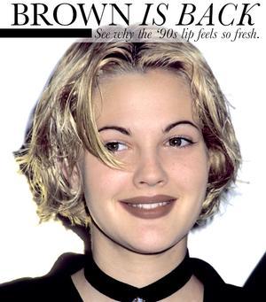 Brown Lipstick's Back!