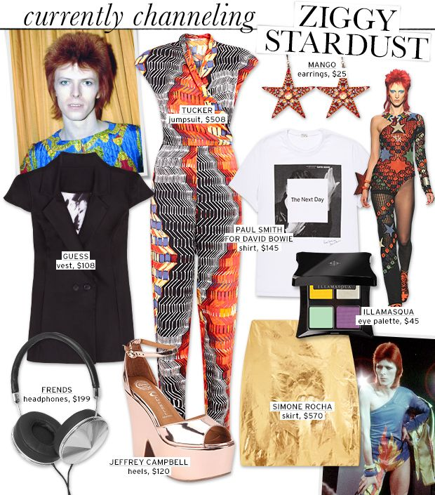 Check Out Our Modern And Fashionable Take On Ziggy Stardust