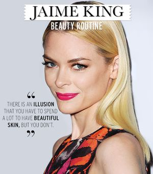 Jaime King's Beauty Routine