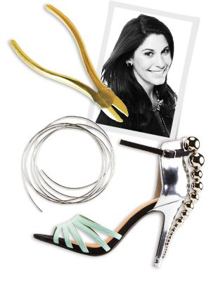 How To Make Silver Bauble Heels Inspired By The Runway