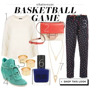 Score Slam Dunk Style With This Chic Basketball Outfit