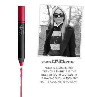 Find Style Inspiration in NARS' New Satin Lip Pencils