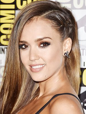 How To Wear A Cool-Girl Braid Like Jessica Alba