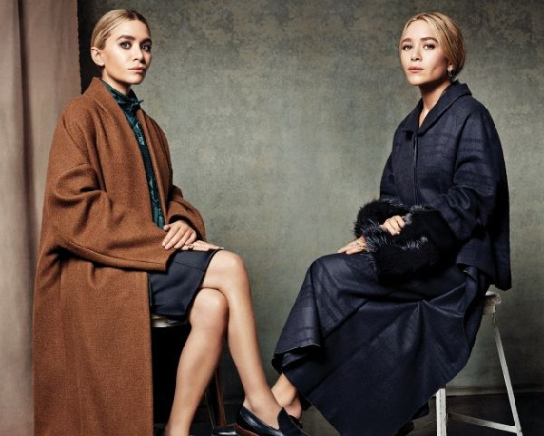 Ashley and Mary-Kate Olsen shot for Vogue Korea in 2013.