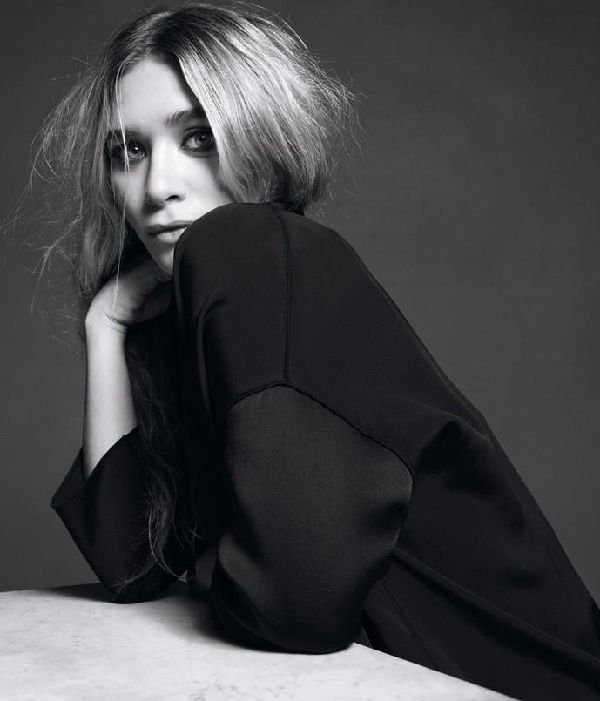 Outtakes from a shoot of Ashley Olsen for the Wall Street Journal.