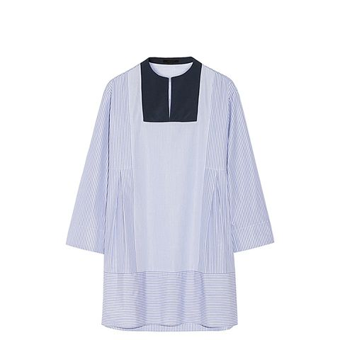 Armet Striped Cotton-Poplin Tunic