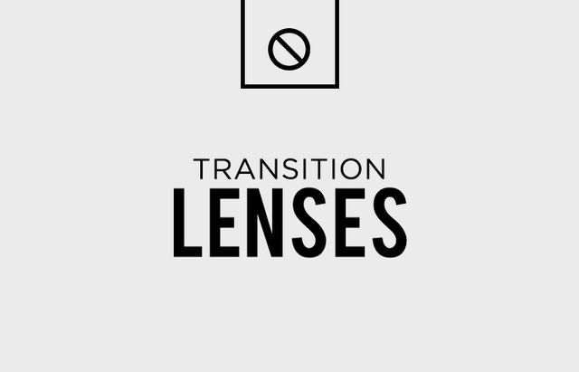 Glasses with transition lenses are perhaps your man's quickest route to looking way older and (less cool) than he actually is. And no, their practicality doesn't make up for their...