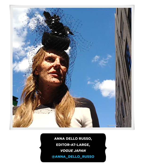 Anna Dello Russo, Editor-At-Large