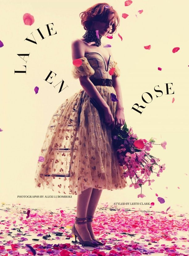 La Vie En Rose | Harper's Bazaar UK