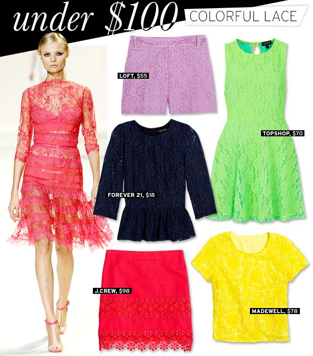 Colorful Lace That Packs A Punch