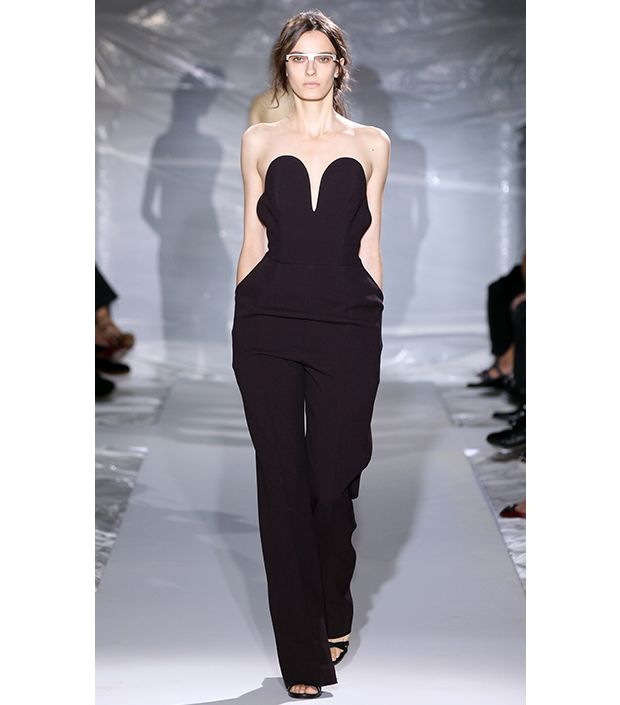We're Obsessing Over Black Jumpsuits--And So Should You!