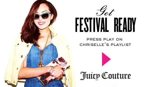Tune Into Style Blogger Chriselle's Music Festival Playlist Now