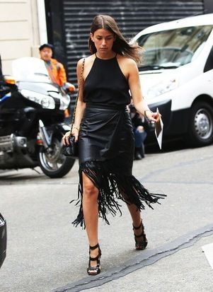 5 Ways To Wear A Leather Skirt For Summer | WhoWhatWear UK