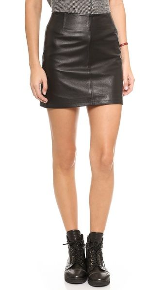 5 ways to wear a leather skirt for summer whowhatwear uk