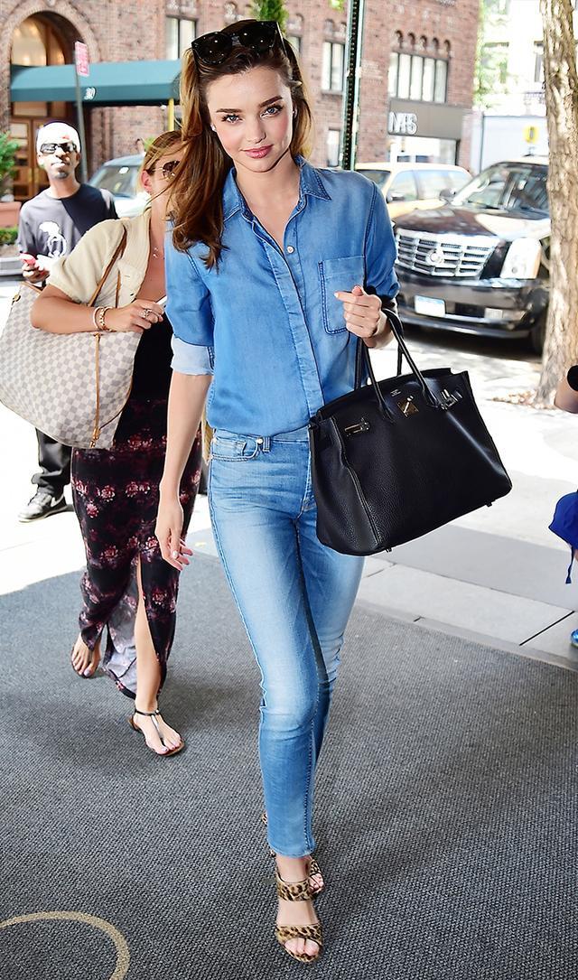 2. High-Waisted Jeans