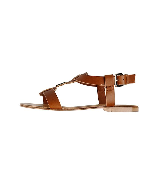 Tuesdayshoesday Shop Our Favorite Flat Leather Sandals