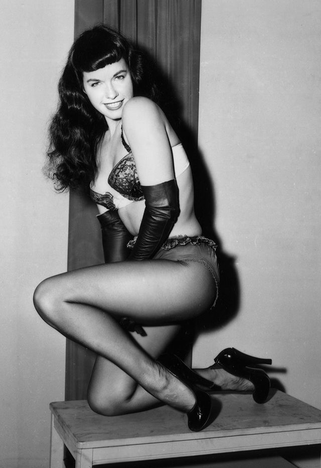 Betty Page Photos: It's National Underwear Day! The 12 Best Lingerie Photos