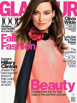 Olivia Wilde Breastfeeds In Glamour Magazine: See The Photo