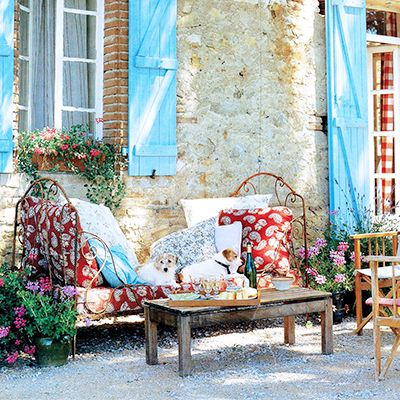 Kathryn Ireland Opens Up About Her Provence Getaway
