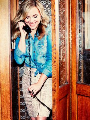 Hillary Kerr Styles 7 Outfits From GUESS' Fall Collection