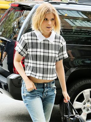 A Fuss-Free Way To Wear Plaid This Week
