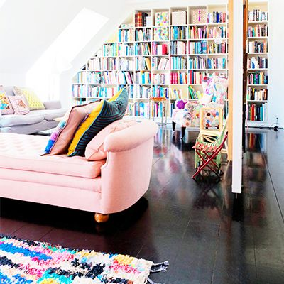 Inside a Colorful Family Home in Copenhagen