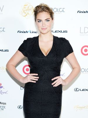 Kate Upton's Surprising Comment About Her Weight