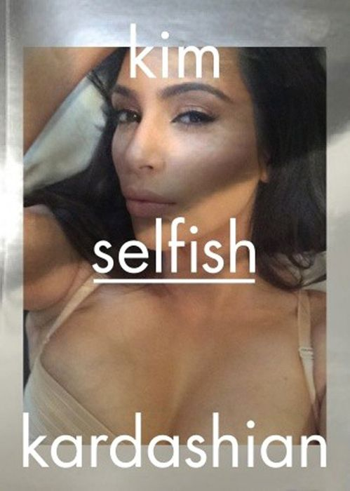 Kim Kardashian Will Publish An Entire Book Of Selfies