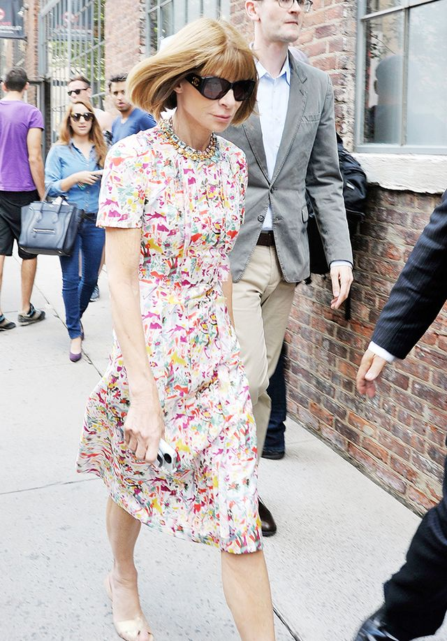 Tip 6.  Even Anna Wintour is unsure sometimes. Just fake it.