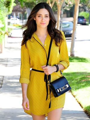 Emmy Rossum's Little Yellow Dress That Could