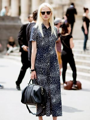 Tip of the Day: How to Make Your Shirtdress Look Non-Basic