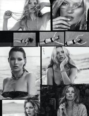 Kate Moss For David Yurman F/W 2014 Campaign