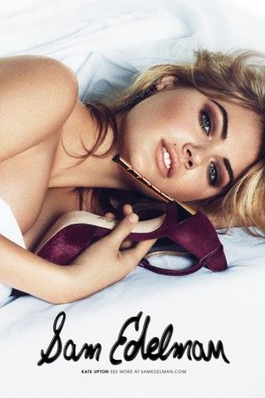 Kate Upton Takes Her Heels to Bed in New Sam Edelman Campaign