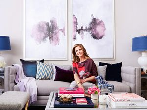 Peek into Natalie Morales' Newly Redesigned Living Room
