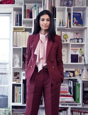 Get A Glimpse Of Caroline Issa's Chic London Apartment